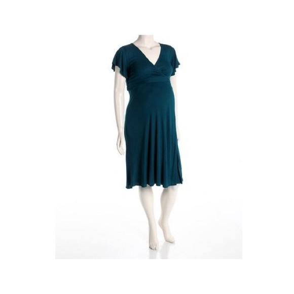 Dynabelly Dresses & Skirts - Maternity Wrap Crossover Dress - Great for Nursing